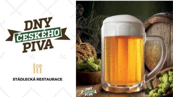 Dny českého piva budeme u příležitosti Dne české státnosti slavit i my ve Stádlecké restauraci a to nepasterizovaným ležákem Lobkowicz. Pojďte na pivo do Stádlecké hospody :)