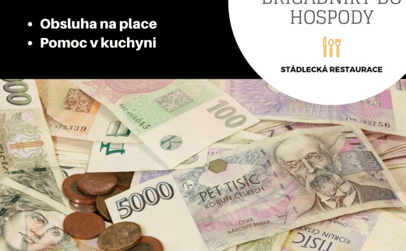 Hledáte přivýdělek v jižních Čechách? Brigáda ve Stádlecké hospodě